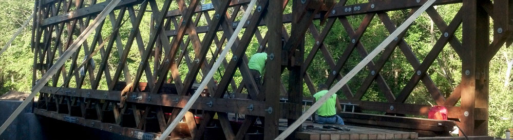 Wisconsin Bridge Constuction, Design & Crane Service from Larson Bridge Construction